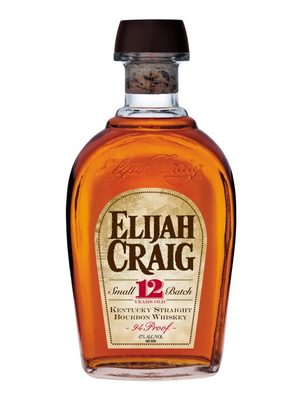 Elijah Craig Small Batch 12 Years Old Kentucky Straight Bourbon Whiskey