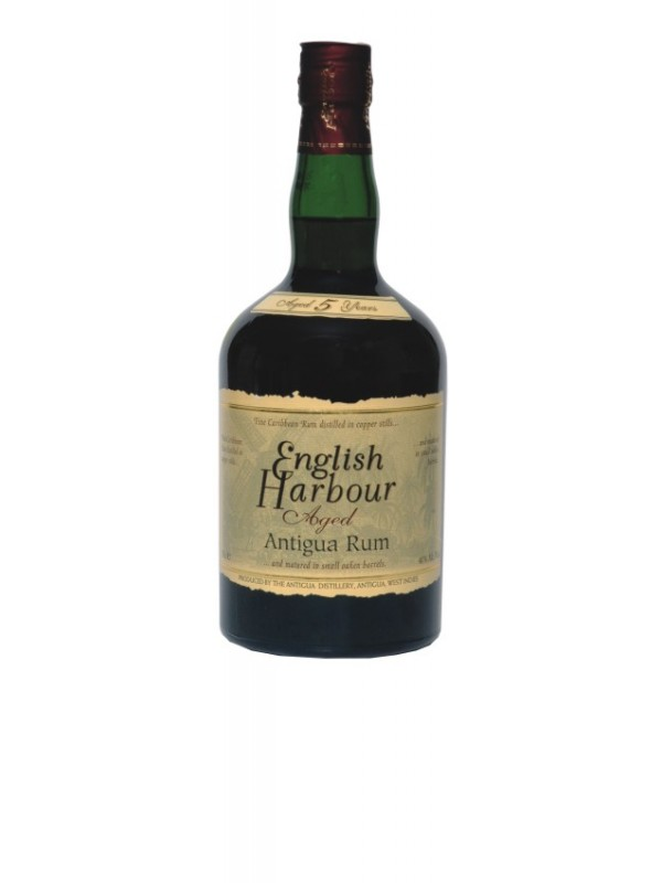 English Harbour 5 år Aged Rum - Rom fra Antigua