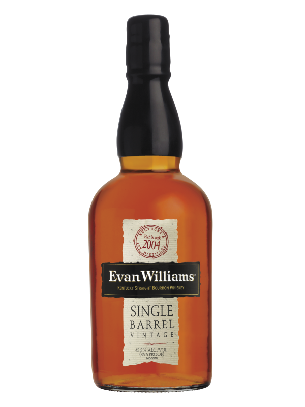 Evan Williams Single Barrel Vintage 2007 Kentucky Straight Bourbon Whiskey 43,3% 70cl-30