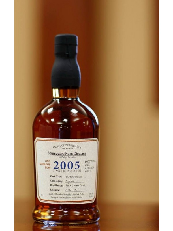 Foursquare 2005 Single Blended Rum 12 år