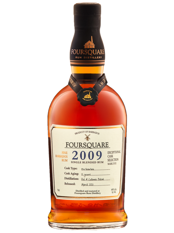Foursquare 2009 rom Exceptional Cask Selection Single Blended Rum