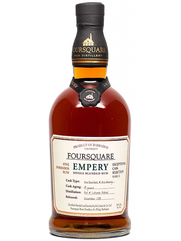 Foursquare Empery rom Exceptional Cask Selection Rum