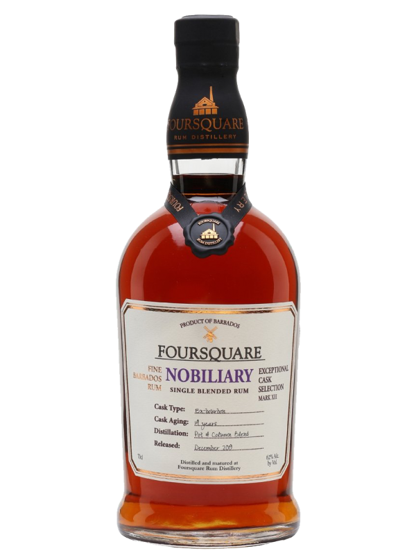 Foursquare Nobiliary rom Single Blended Rum 62%
