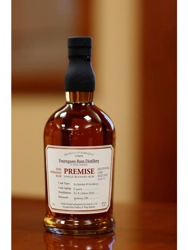 Foursquare Premise Single Blended Rum 10 år