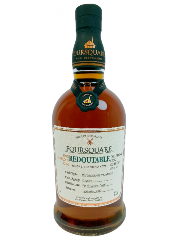 Foursquare Redoutable rom Exceptional Cask Selection Foursquare Barbados Rum