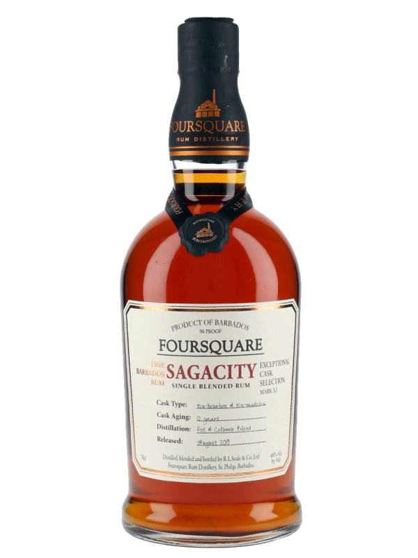 Foursquare Sagacity Single Blended Rum 12 års rom