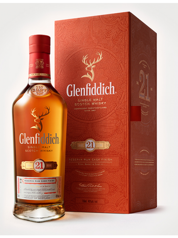 Glenfiddich 21 YO Single Malt Whisky