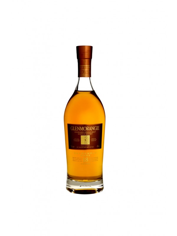 Glenmorangie 18 år Single Malt Whisky 43% 70cl-30