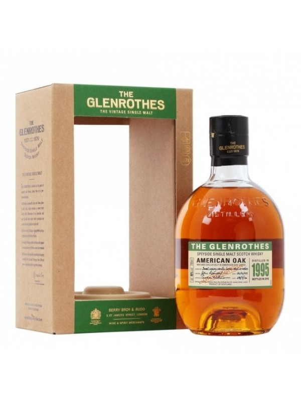 The Glenrothes 1995 American Oak Speyside Single Malt Whisky
