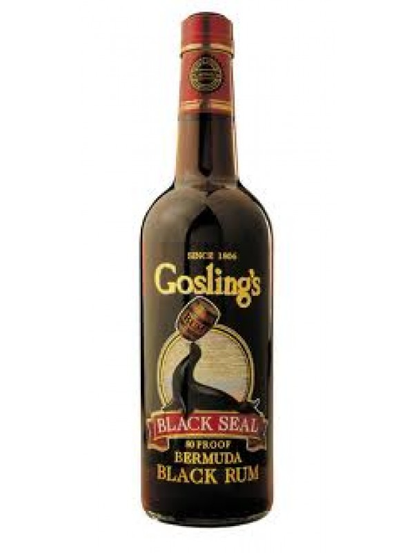 Goslings Black Seal 80 Proof Rum 40% 70cl Rom fra Bermuda-30