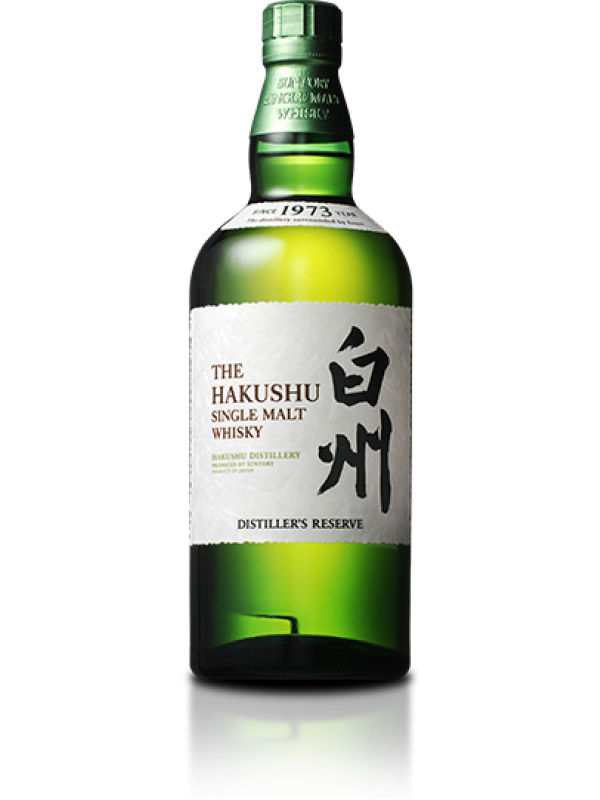 The Hakushu Distillers Reserve Single Malt Suntory Whisky