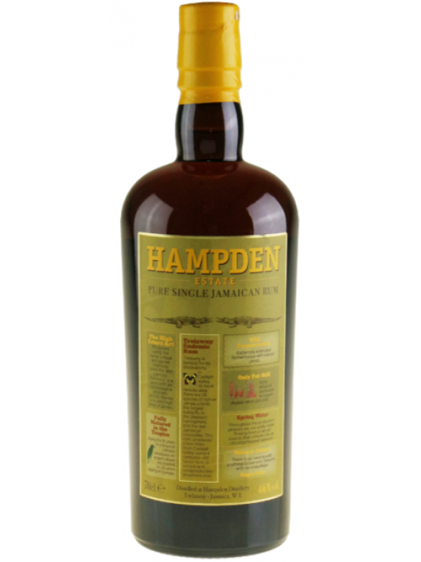 Hampden Estate 8 års rom 46% Pure Single Jamaican Rum