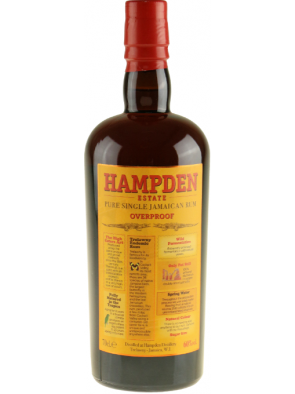 Hampden Estate 7 års rom 60% Pure Single Jamaican Rum