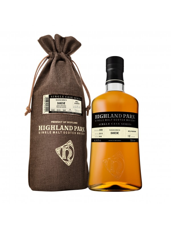 Highland Park Danefæ Single Cask Series whisky 64,8%