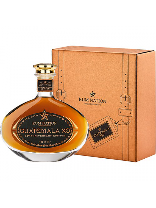 Rum Nation Guatemala XO 20th Anniversary Edition rom