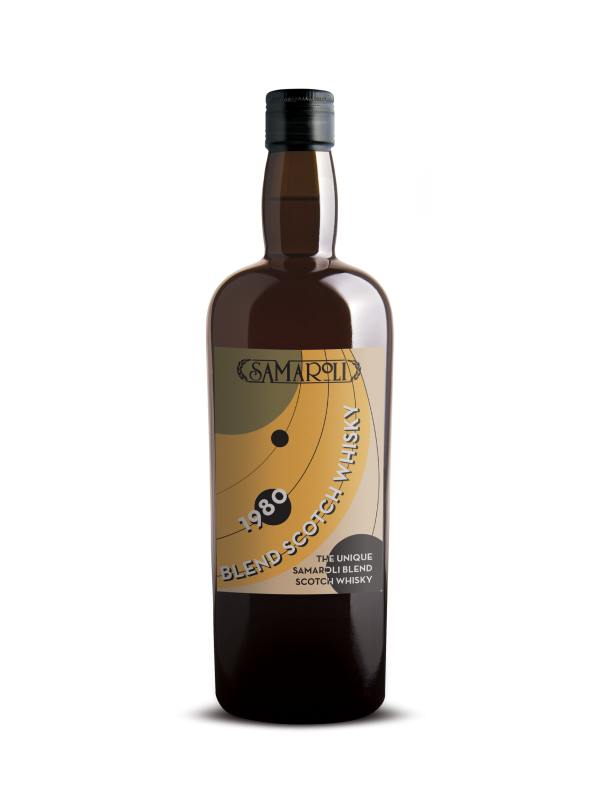 The Unique Samaroli 1980 Blend 35 Year Old Scotch Whisky 2015 Edition 40% 70cl-30