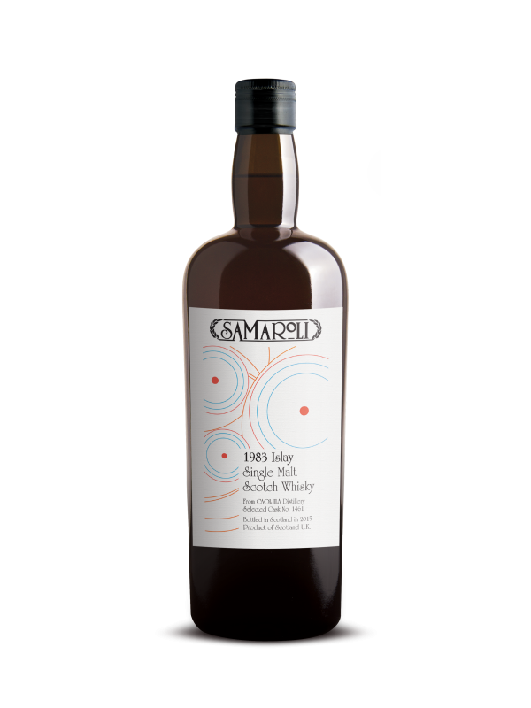 Samaroli 1983 Caol Ila 32 Year Old 2015 Edition Islay Whisky 43% 70cl-30