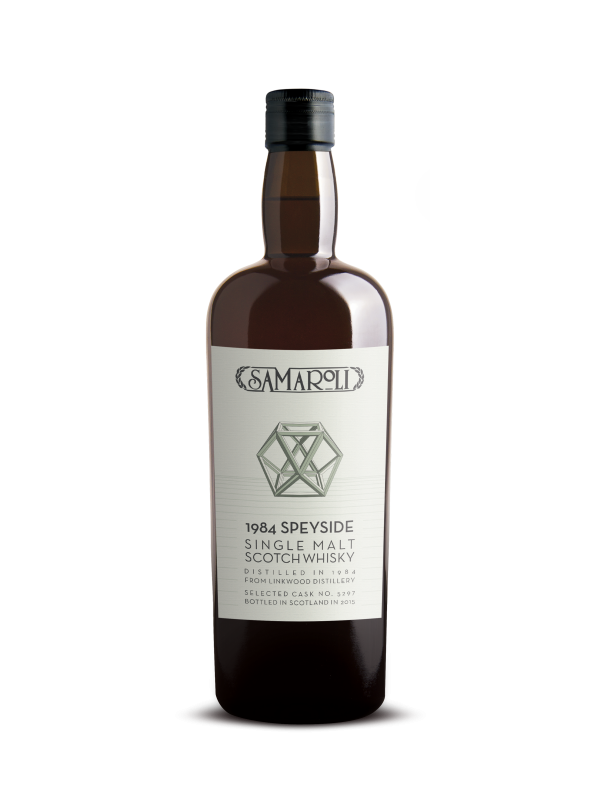 Samaroli 1984 Linkwood 31 Year Old 2015 Edition Speyside Whisky 45% 70cl-30