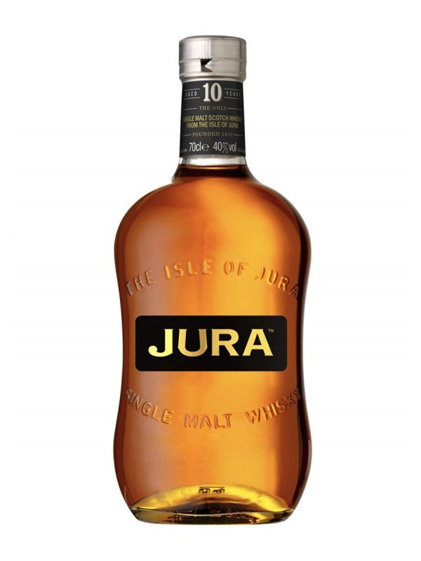 Isle of Jura 10 år Origin Single Malt Whisky 40% 70cl-30