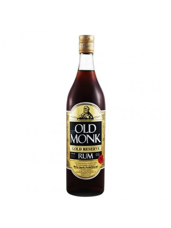 Old Monk 12 år Gold Reserve Rum