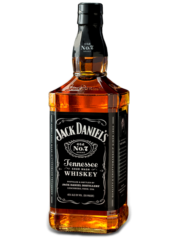 Jack Daniels Old No. 7 Tennessee Whiskey 40% 70cl-30