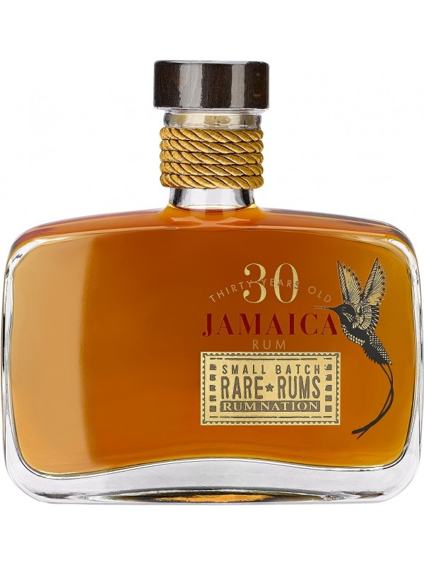 Rum Nation Rare Rums Jamaica 30 år