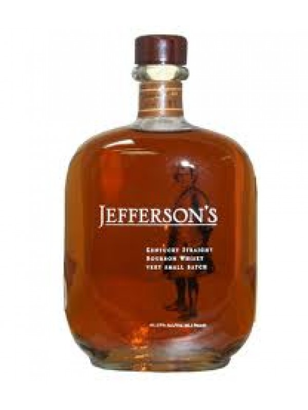 Jeffersons Kentucky Straight Bourbon Whisky Very Small Batch 41,2% 70cl-30