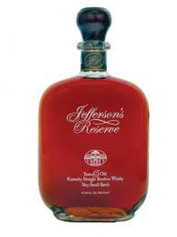 Jeffersons Reserve Very Old Kentucky Straight Bourbon Whisky Very Small Batch 45,1% 75cl-30