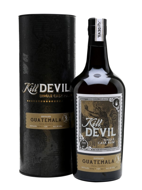 Kill Devil 9 år Guatemala Single Cask Rum
