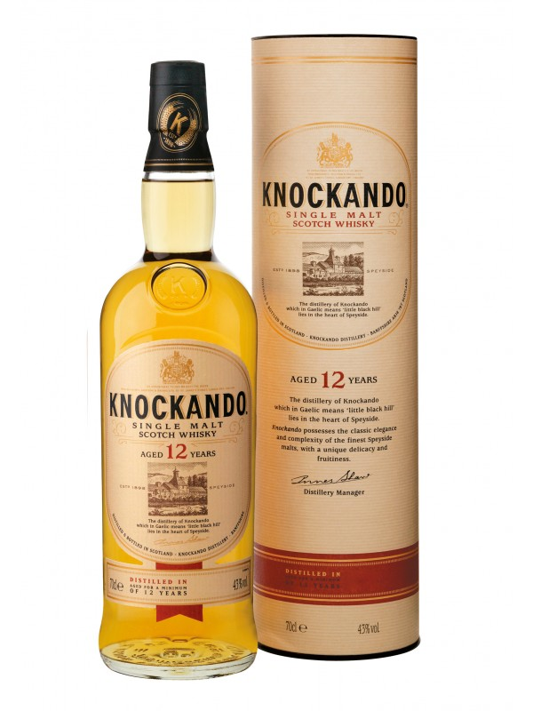 Knockando 12 år Single Malt Scotch Whisky 43% 70cl-30
