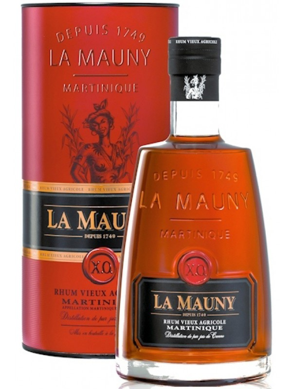 La Mauny XO Rhum Vieux Agricole 40% 70cl Rom fra Martinique-30