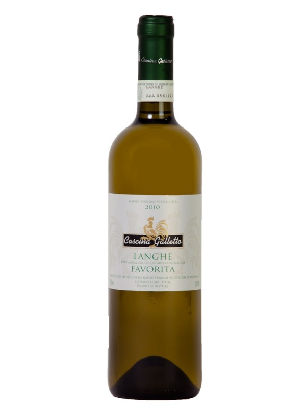 Langhe Favorita 2012 Cascina Galletto DOC hvidvin Italien-30
