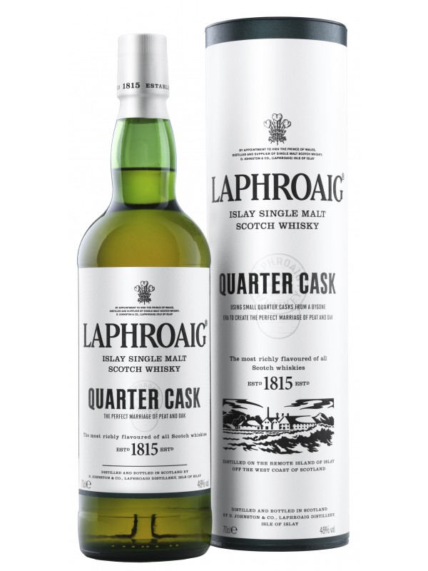 Laphroaig Quarter Cask Single Malt Whisky 48% 70cl-30