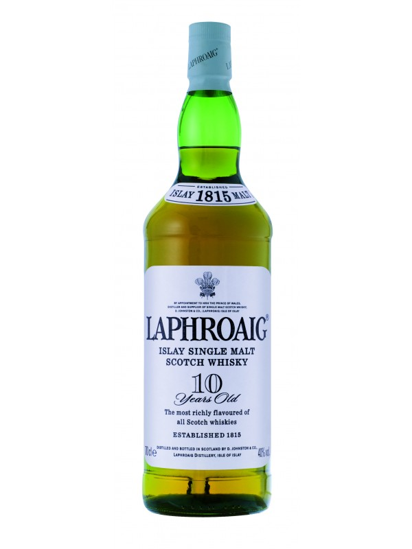 Laphroaig 10 år Single Malt Whisky 40% 70cl-30
