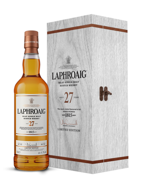 Laphroaig 27 Year Old Islay Single Malt Scotch Whisky 41.7% 70cl