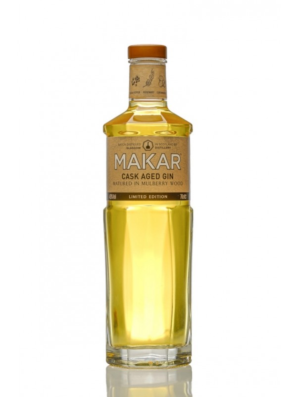 Makar Cask Aged Gin Matured In Mulberry Wood