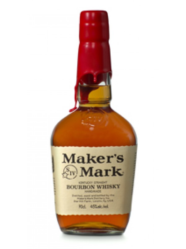 Makers Mark Kentucky Straight Bourbon Whiskey 45% 70cl-30