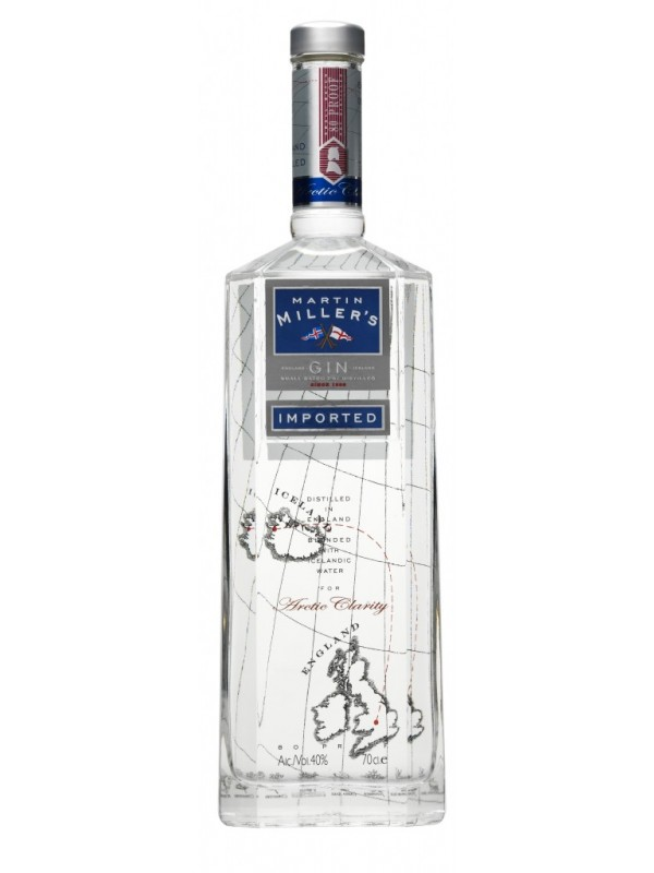 Martin Millers Gin 40% 70cl-30