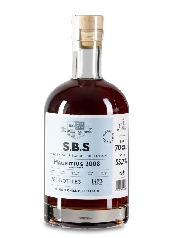 SBS Mauritius 2008 Single Barrel Selection Rum