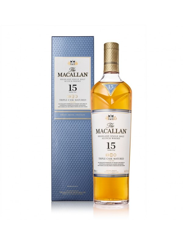 The Macallan 15 år Fine Oak Single Malt Whisky