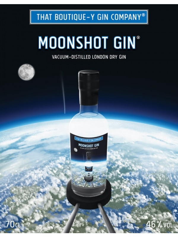 Moonshot Gin That Boutique-y Company flaske