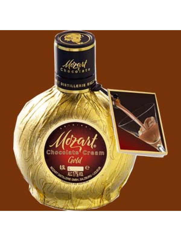 Mozart Gold Chocolate Cream likør 17% 50cl-30