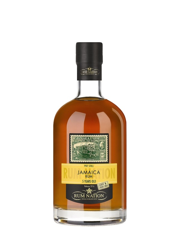Rum Nation Pot Still Jamaica 5 år 50% 70cl-31