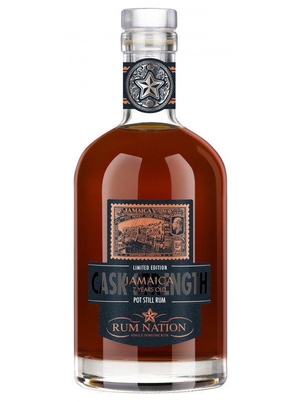 Rum Nation Pot Still Jamaica 7 år Cask Strength