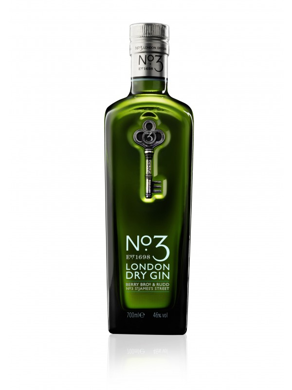 No. 3 London Dry Gin 46% 70cl-30