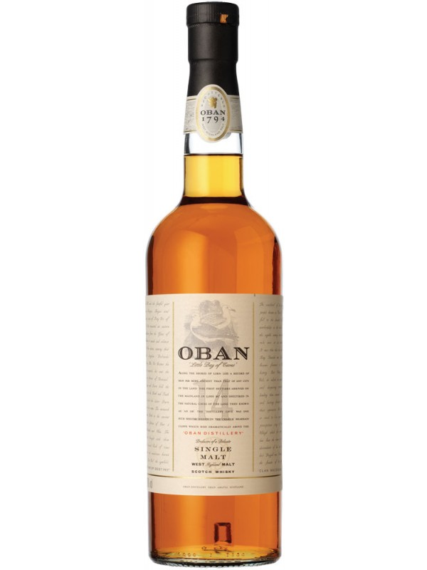 Oban 14 år Single Malt Whisky 43% 70cl-30