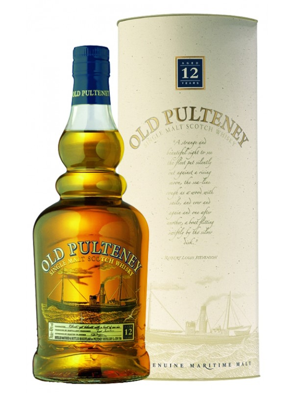 Old Pulteney 12 år Single Malt Whisky 40% 70cl-30