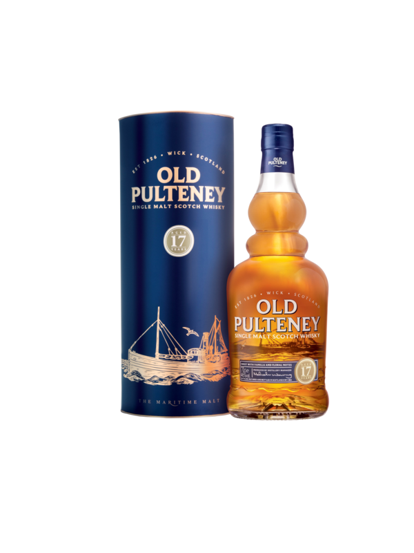 Old Pulteney 17 år Single Malt Whisky 46% 70cl-30