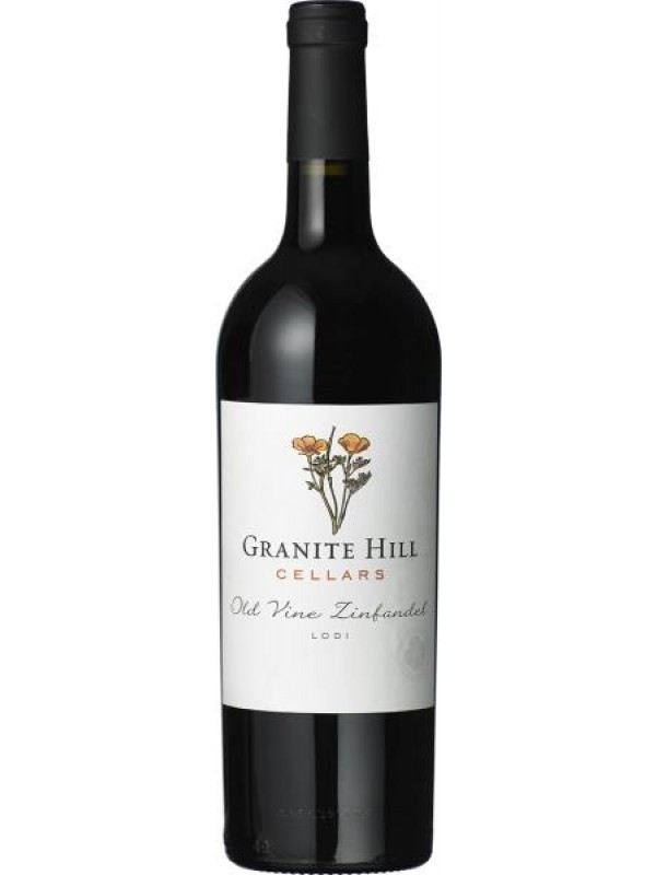 Old Vine Zinfandel, Granite Hill Cellars 2017 - Rødvin fra Californien, USA