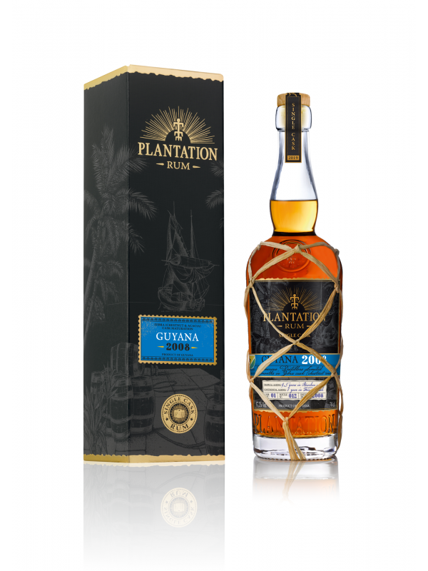 Plantation Guyana 2008 Single Cask Denmark rom
